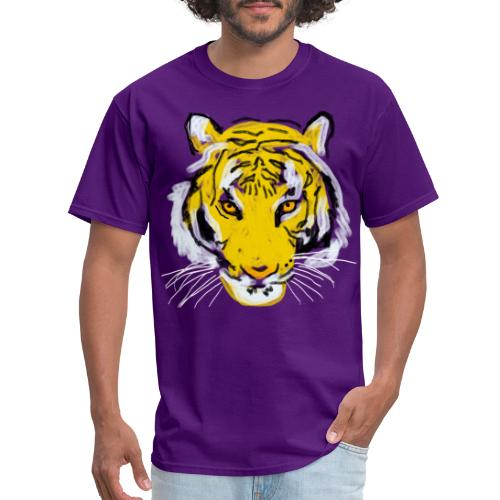 Tiger head - Men's T-Shirt