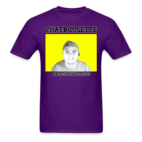 ChatrouletteMTDShirt png - Men's T-Shirt