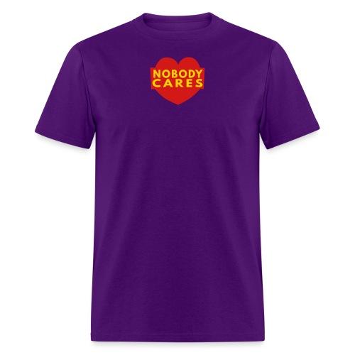 nobody cares two - Men's T-Shirt