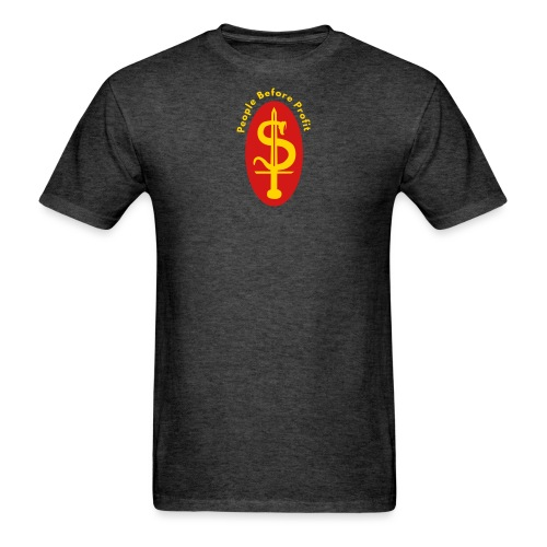 people before profit - Men's T-Shirt