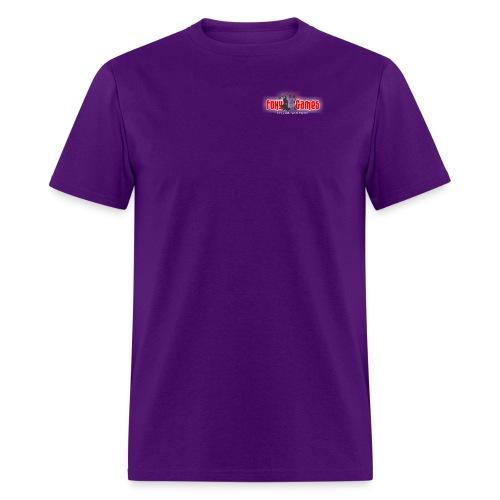 foxygameslogo transp - Men's T-Shirt