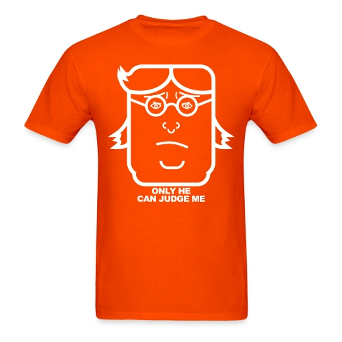 Only he can judge me - Men's T-Shirt