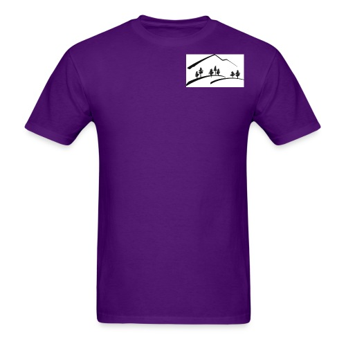 Mountain clipart13 gif - Men's T-Shirt