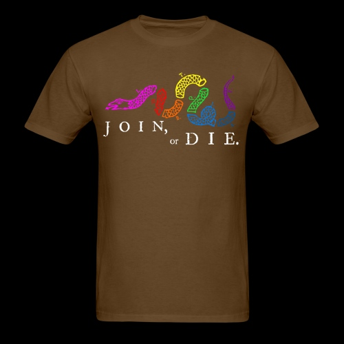 LGBTQIA Join or Die - Men's T-Shirt