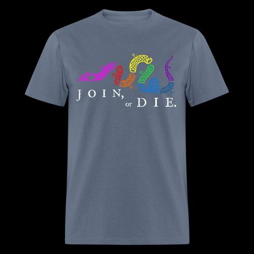 LGBTQIA Join or Die - Men's T-Shirt