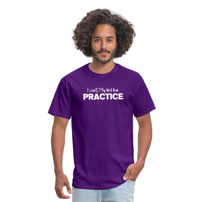 I Can't My Kid Has Practice logo