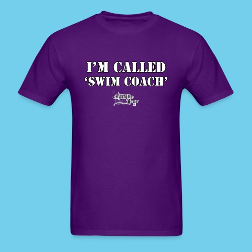 They call me Coach Front - Men's T-Shirt