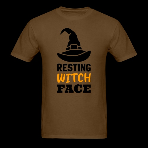 Resting Witch Face | Funny Halloween - Men's T-Shirt
