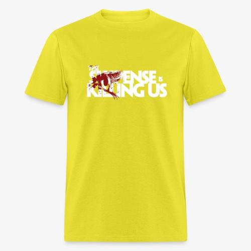 Suspense Is Killing Us Red Eye Logo - Men's T-Shirt
