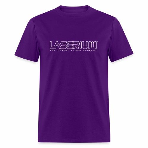 Laserium Logo OL White Tag - Men's T-Shirt