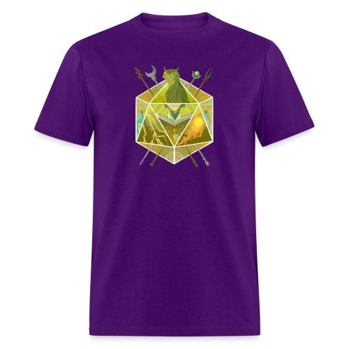 D20 Wizard - Men's T-Shirt
