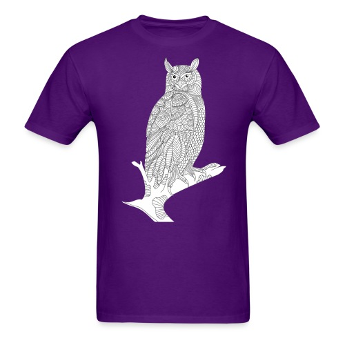 Owl Design - Men's T-Shirt