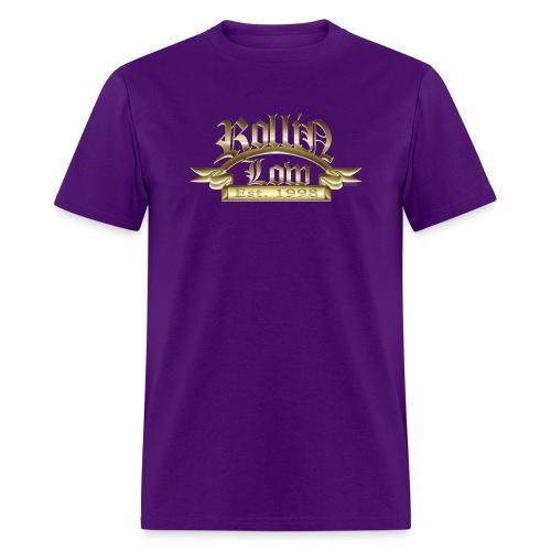 Rollin Low Plaque by RollinLow - Men's T-Shirt