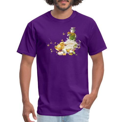 easter bunny easter egg holiday - Men's T-Shirt