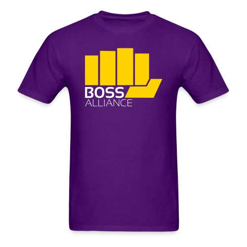 Everyone loves a gold fist - Men's T-Shirt