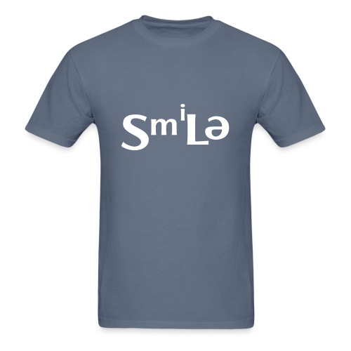 Smile Abstract Design - Men's T-Shirt