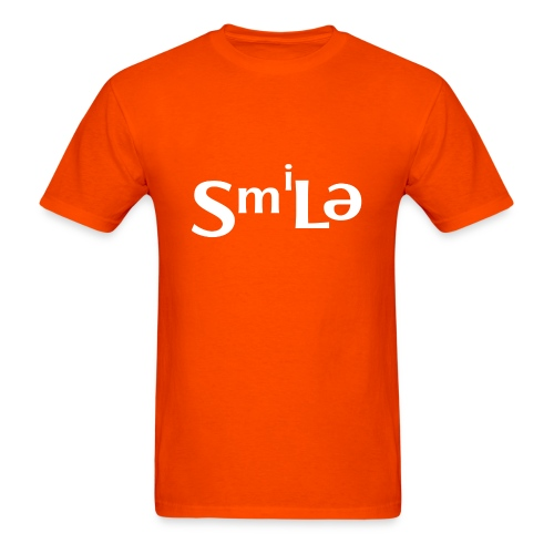 Smile Abstract Design - Men's T-Shirt