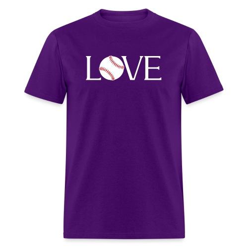 Softball baseball Love - Men's T-Shirt