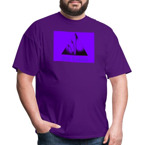 Purple Logo - Men's T-Shirt