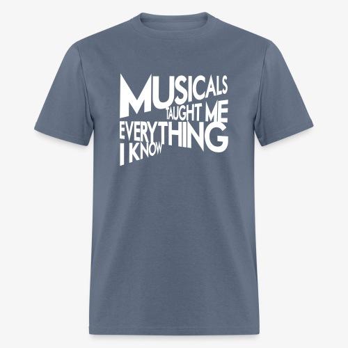 MTMEIK White Logo - Men's T-Shirt