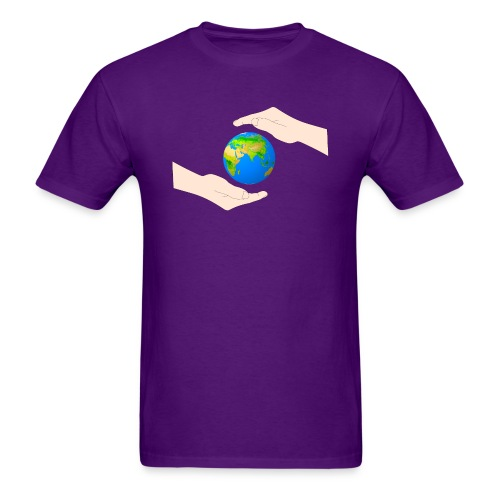 protect the earth - Men's T-Shirt