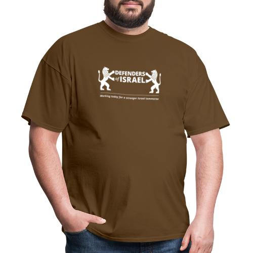 Defenders Of Israel White - Men's T-Shirt