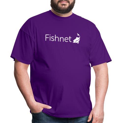 Fishnet (White) - Men's T-Shirt