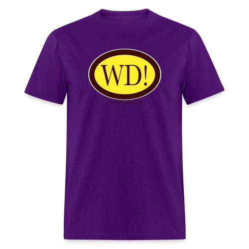 wd in circle seal - Men's T-Shirt