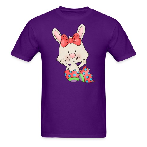 Easter Egg Bunny 6 png - Men's T-Shirt