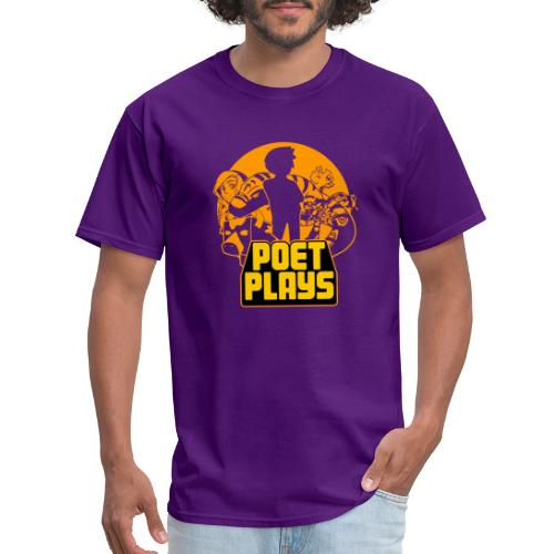 Poet Plays RETRO - Men's T-Shirt