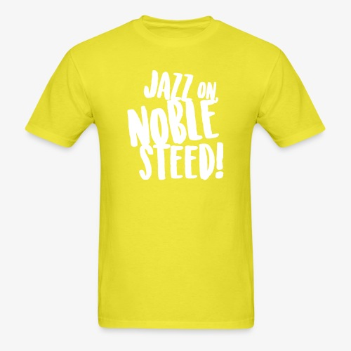 MSS Jazz on Noble Steed - Men's T-Shirt