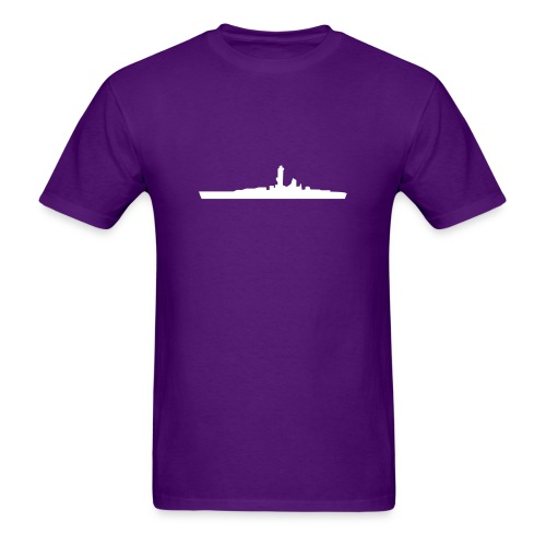 Battleship - Men's T-Shirt