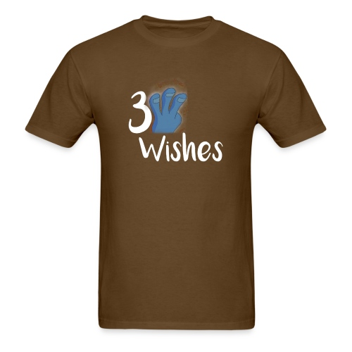 3 Wishes Abstract Design. - Men's T-Shirt