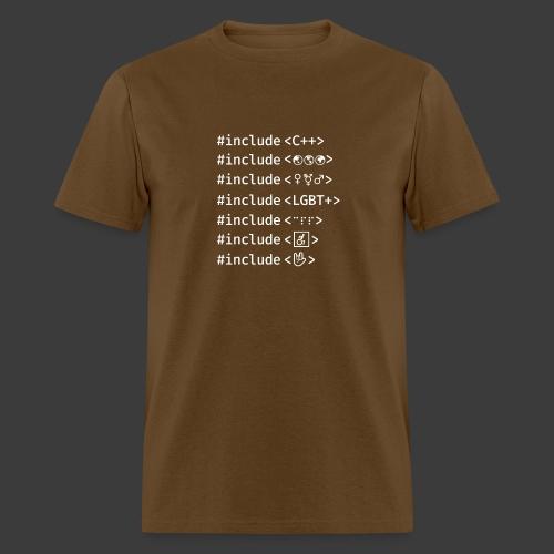 White Include List - Men's T-Shirt