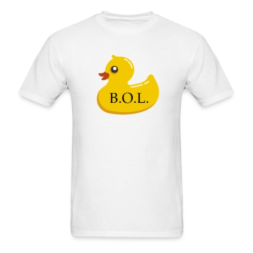 Official B.O.L. Ducky Duck Logo - Men's T-Shirt