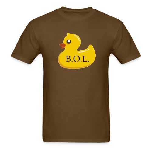 Official B.O.L. Ducky Duck Logo - Men's T-Shirt