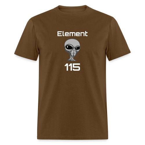 Element 115 Moscovium Alien Fuel - Men's T-Shirt