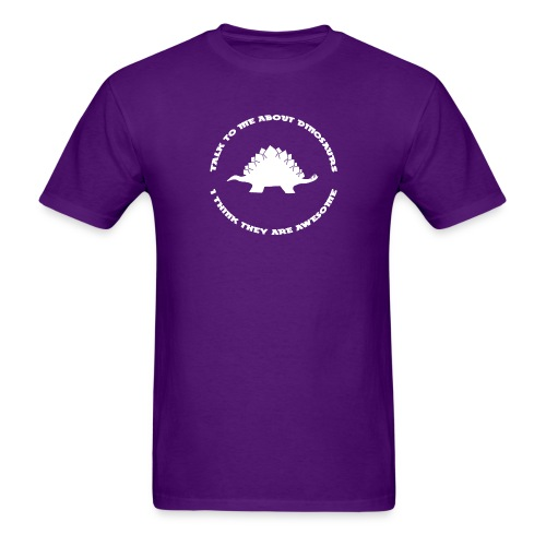 Dinosaurs Are Awesome - Men's T-Shirt