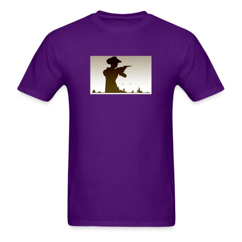 Western PUBG Man - Men's T-Shirt