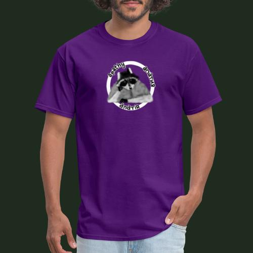 Apathy Raccoon - Men's T-Shirt