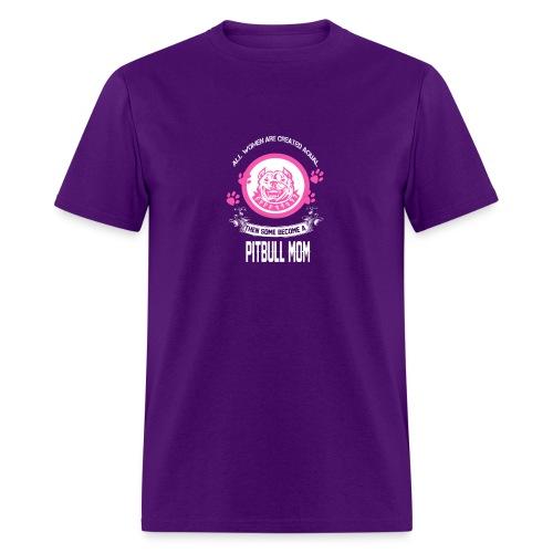 pitbullmom - Men's T-Shirt