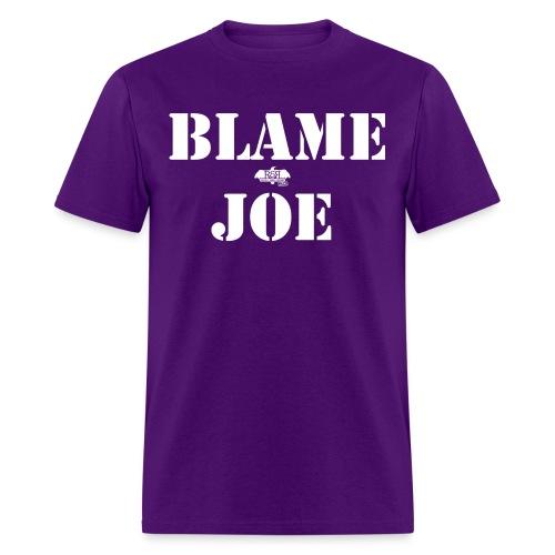 blame joe 1 png - Men's T-Shirt