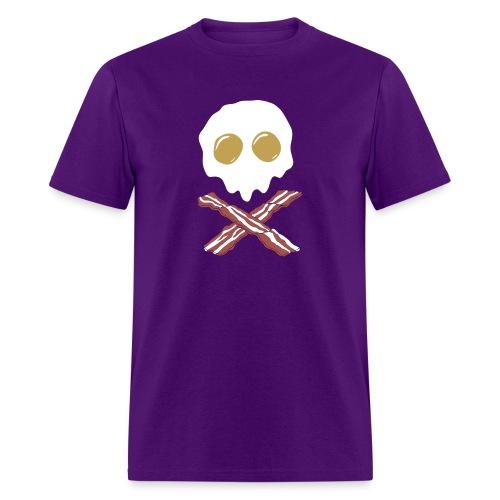 Breakfast Skull - Men's T-Shirt
