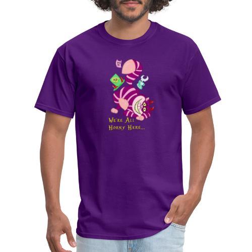 Cheshire Cat - Men's T-Shirt