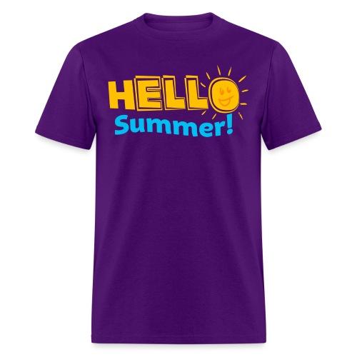 Kreative In Kinder Hello Summer! - Men's T-Shirt