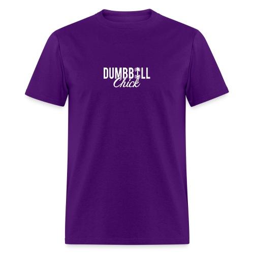 Dumbbell Fitness Chick - Men's T-Shirt
