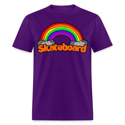 SK8 THE RAINBOW - Men's T-Shirt