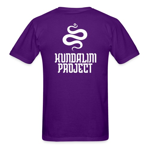 Kundalini Project - Logo back and front - Men's T-Shirt