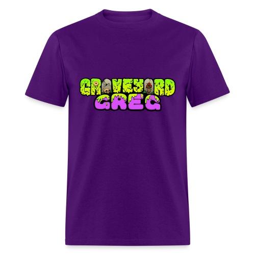 Graveyard Greg Logo! - Men's T-Shirt