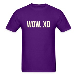 WOW. XD - Men's T-Shirt